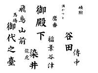 大字・小字(滝野川町と巣鴨町)
