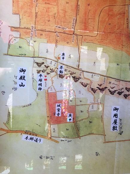 上中里村絵図