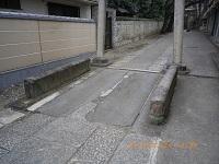 谷田川の橋