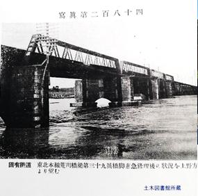 東北線荒川橋梁