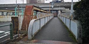 地藏坂歩道橋